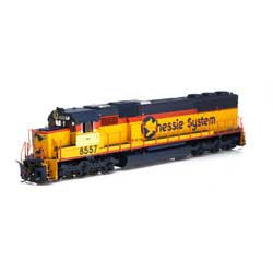 Athearn 86901 HO SD50 CSX/Chessie Patched #8557