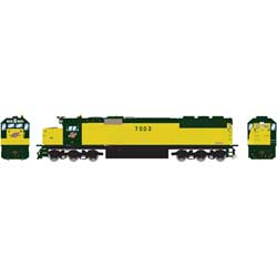 ATH86945 Athearn Inc HO RTR SD50 w/DCC & Sound, C&NW/Zito Yellow #7003