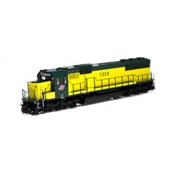 ATH86946 Athearn Inc HO RTR SD50 w/DCC & Sound, C&NW/Zito Yellow #7009