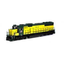 ATH86947 Athearn Inc HO RTR SD50 w/DCC & Sound, C&NW/Zito Yellow #7014
