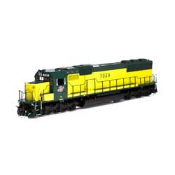 ATH86948 Athearn Inc HO RTR SD50 w/DCC & Sound, C&NW/Zito Yellow #7029