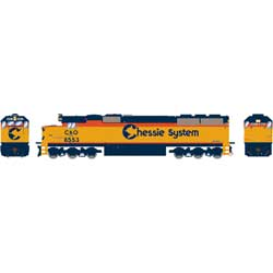 ATH86950 Athearn Inc HO RTR SD50 w/DCC & Sound,CSX/Chessie Patched#8553