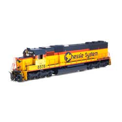 ATH86952 Athearn Inc HO RTR SD50 w/DCC & Sound,CSX/Chessie Patched#8578