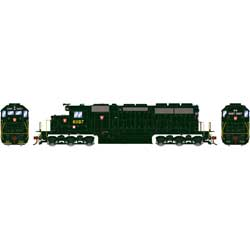 Athearn 88612 HO RTR SD40 w/DCC & Sound Pennsyvannia PRR/Dark Green #6087 ATH88612