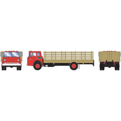 Athearn 92045 HO Ford C Stake Bed Purina Fletcher's Feed & Farm Supply