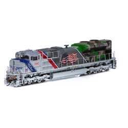 Athearn G01943 HO SD70ACe w/DCC & Sound UP/Spirit of UP #1943 ATHG01943