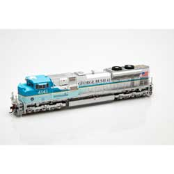 Athearn G04141 HO SD70ACe w/DCC & Sound UP/George HW Bush #4141 ATHG04141