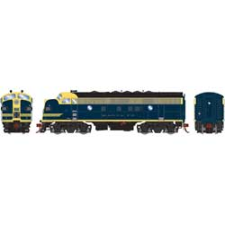 Athearn Inc ATHG12317 HO F7A, ATSF/Cat Whiskers #205L