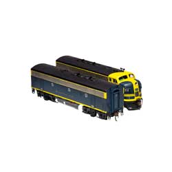 Athearn Inc ATHG12418 HO F7 A/B w/DCC & SND,ATSF/Cat Whiskers