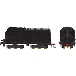 ATHG15995 Athearn Inc HO 4-6-6-4 Tender Coal, UP/Early/Black/Unlettered