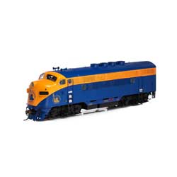 Athearn G22847 HO F3A w/DCC & Sound CNJ/Freight #52