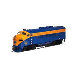 Athearn G22856 HO F3A w/DCC & Sound CNJ/Freight No #