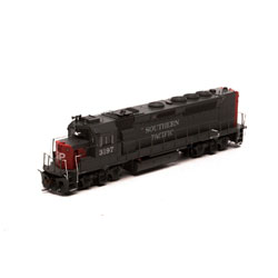 Athearn G63780 HO GP40P-2 w/DCC & Sound SP Grey & #3197 ATHG63780