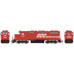 Athearn G65500 HO GP39-2 w/DCC & Sound SOO/Red #4599