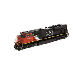 ATHG68891 Athearn Inc HO SD70ACe w/DCC & Sound, CN #8100/Re-Paint