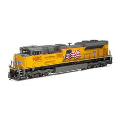 Athearn G89830 HO SD70ACe w/DCC & Sound UP #9000