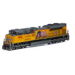 Athearn G89831 HO SD70ACe w/DCC & Sound UP #9010 ATHG89831