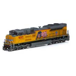 Athearn G89832 HO SD70ACe w/DCC & Sound UP #9053