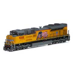 Athearn G89833 HO SD70ACe w/DCC & Sound UP #9088 ATHG89833