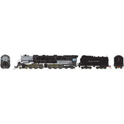 ATHG97242 Athearn Inc HO 4-6-6-4 w/DCC &SND Coal/Rck,UP CSA-1 Class#3707