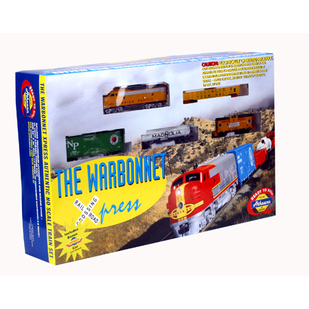 HO Warbonnet Express Train Set, UP (ATH1026): Athearn Trains
