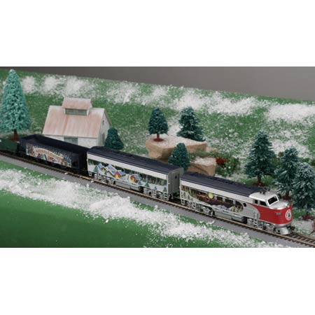 Ho Christmas Train.Ho Christmas Train Set 1999 Ath1099 Athearn Trains
