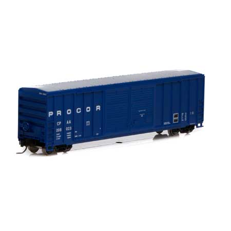 N 50' FMC Centered Double Door Box, Procor #208023