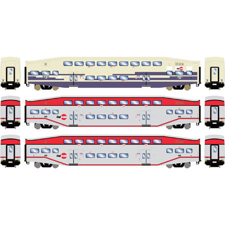 n bombardier coach caltrain ex metrolink 3 ath26004 athearn trains. Black Bedroom Furniture Sets. Home Design Ideas