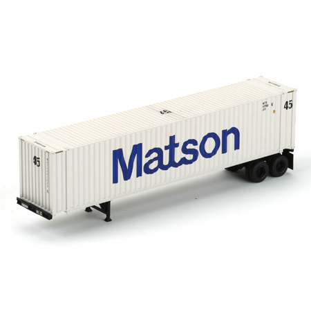 Ho rtr 45 39 chassis w container matson 1 ath27757 athearn trains - Matson container homes ...