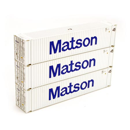 Ho rtr 45 39 corrugated container matson 3 ath2876 athearn trains - Matson container homes ...