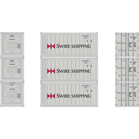 HO RTR 20' Reefer Container, Swire Shipping (3)