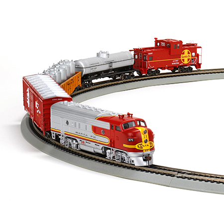 Ho Warbonnet Train Set Sf Ath29308 Athearn Trains