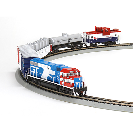 Ho Gp38 2 Iron Horse Train Set Gt Bicentennial Ath29311