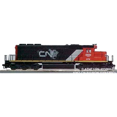HO KIT SD40-2 w/Chicken Wire Grill Dummy, CN/NA (ATH6357): Athearn ...