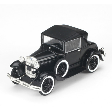1/50 Die-Cast 1931 Ford Model A Coupe, Black (ATH90731 ...