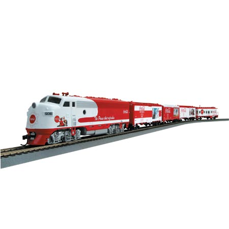 Ho Coca Cola Holiday Train Set Ath9667 Athearn Trains