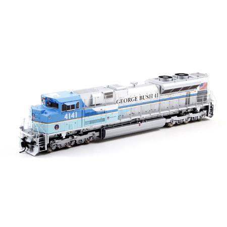 Ho Sd70ace Up President George Bush 4141 Athg68786 Athearn Trains