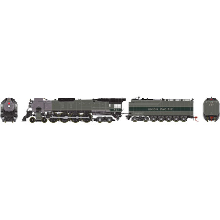 ho fef 2 4 8 4 up 827 athg97276 athearn trains