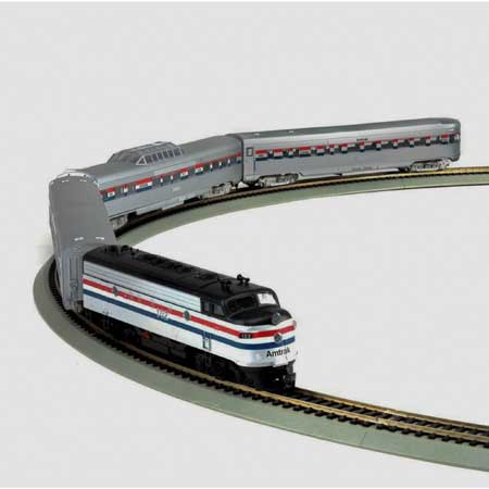 Ho Streamliner Train Set Amtrak Athr14750 Athearn Trains