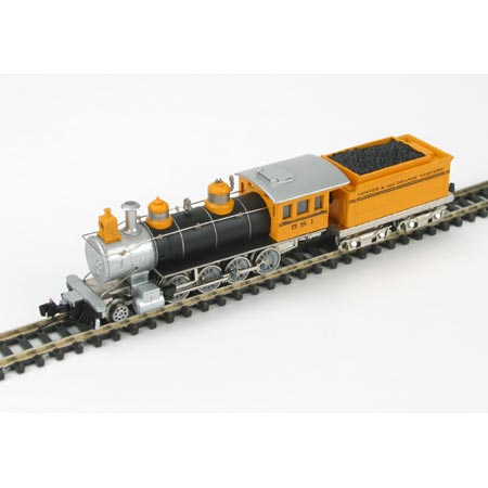 N Rtr Old Time 2 8 0 D Rgw 581 Ath10906 Athearn Trains