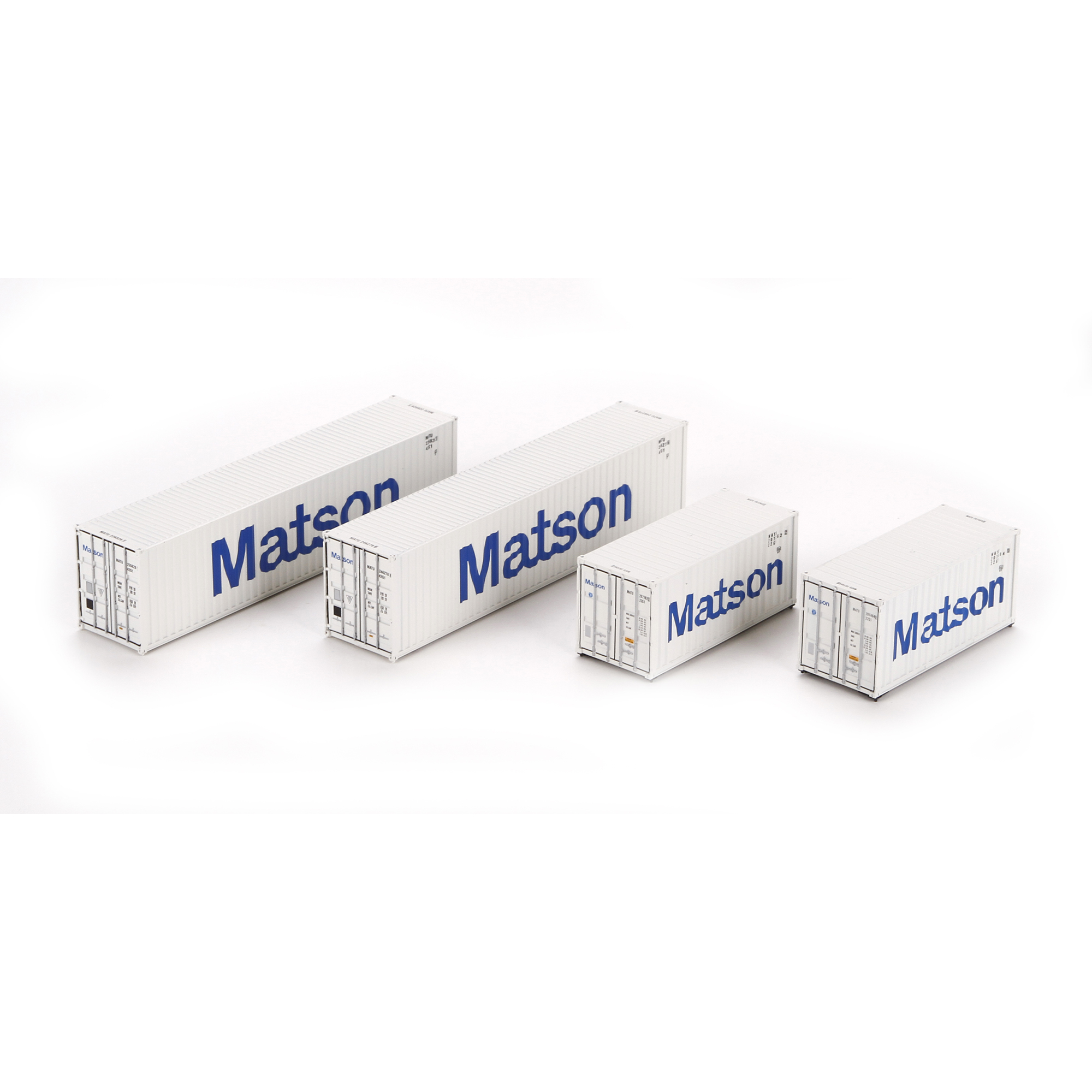 Ho rtr 20 39 40 39 containers matson 1 4 ath27942 athearn trains - Matson container homes ...