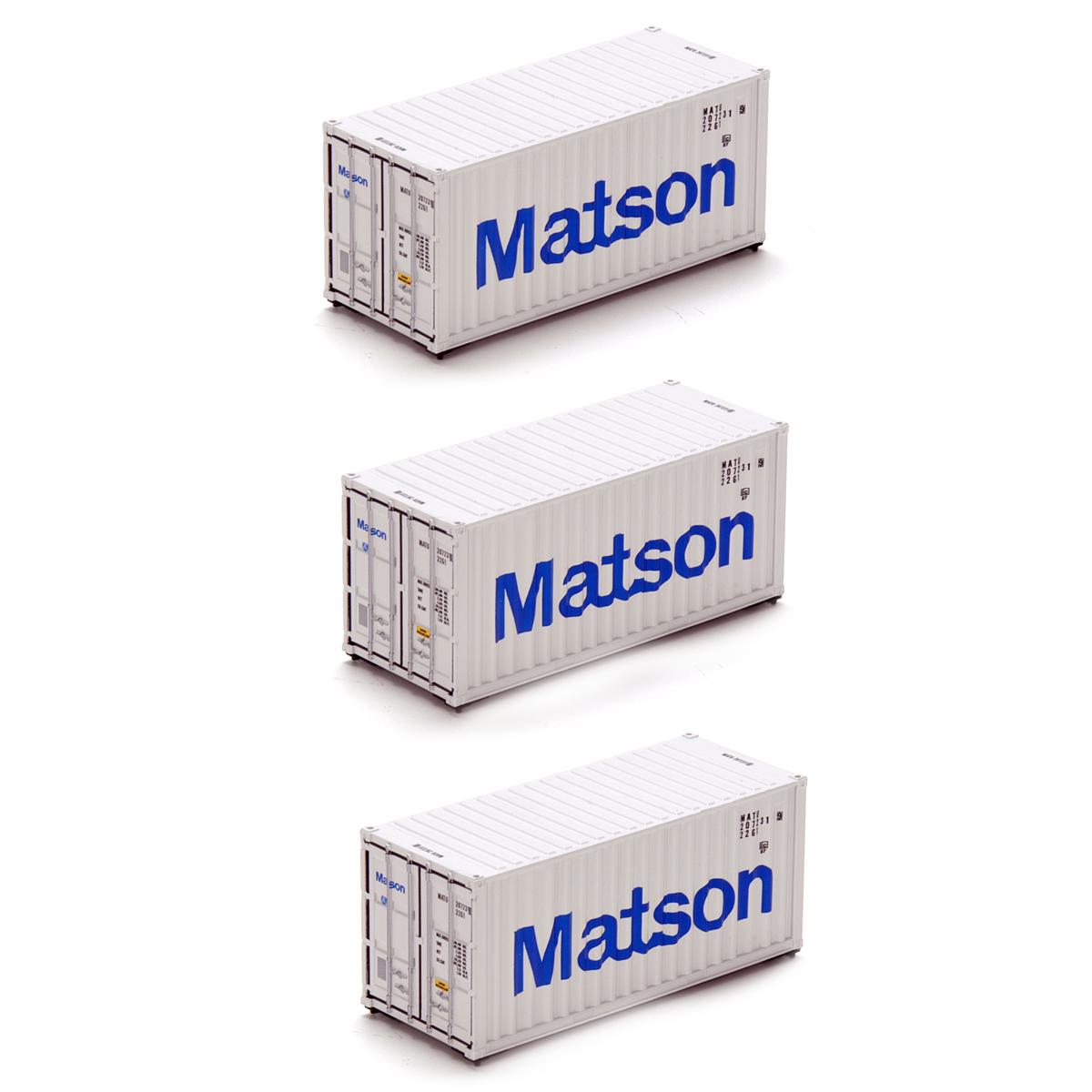 Ho rtr 20 39 container matson 3 ath28824 athearn trains - Matson container homes ...
