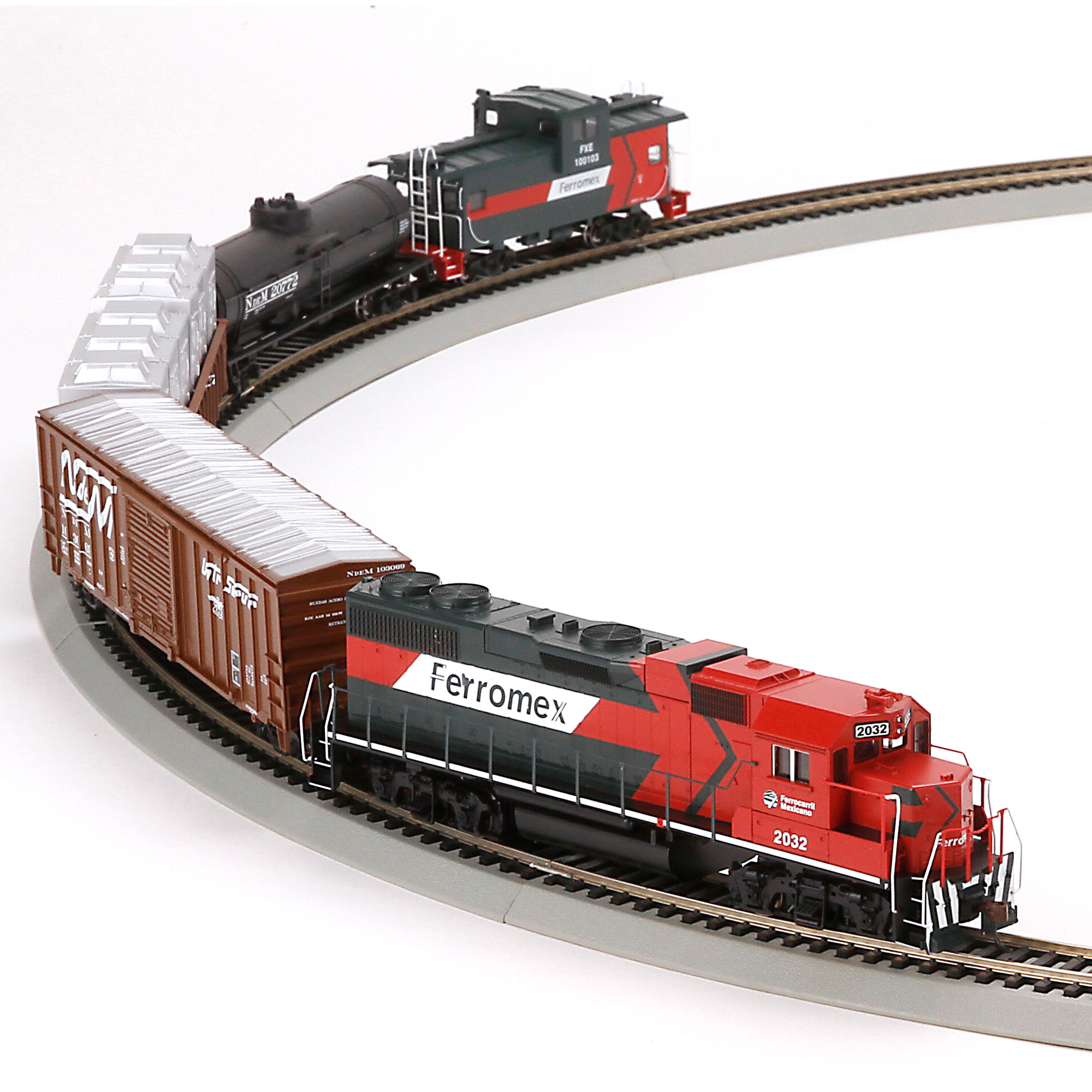 Ho Iron Horse Train Set Ferromex Ath29306 Athearn Trains