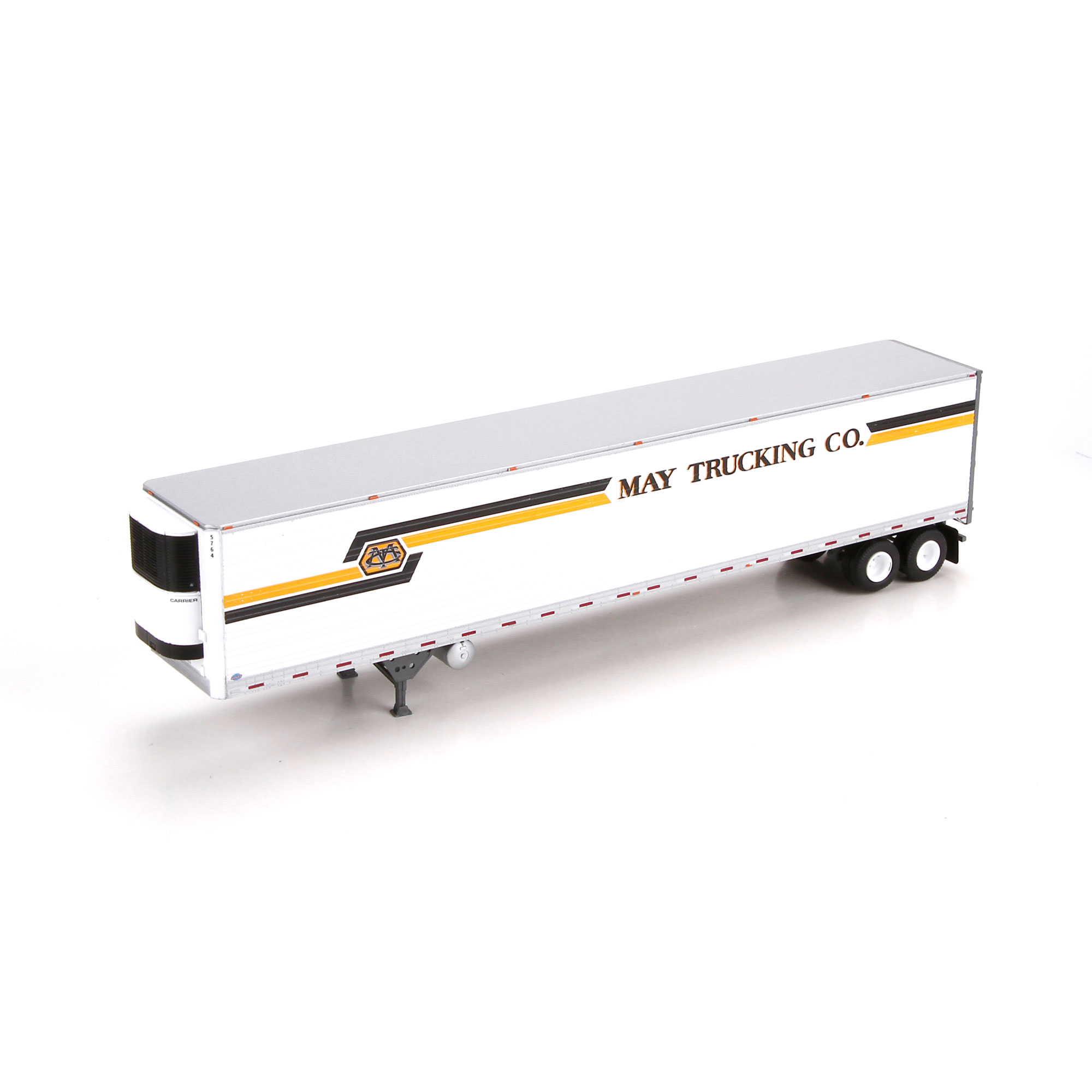 Athearn N Scale 3 Axle Tractor : Ho rtr reefer trailer may trucking ath
