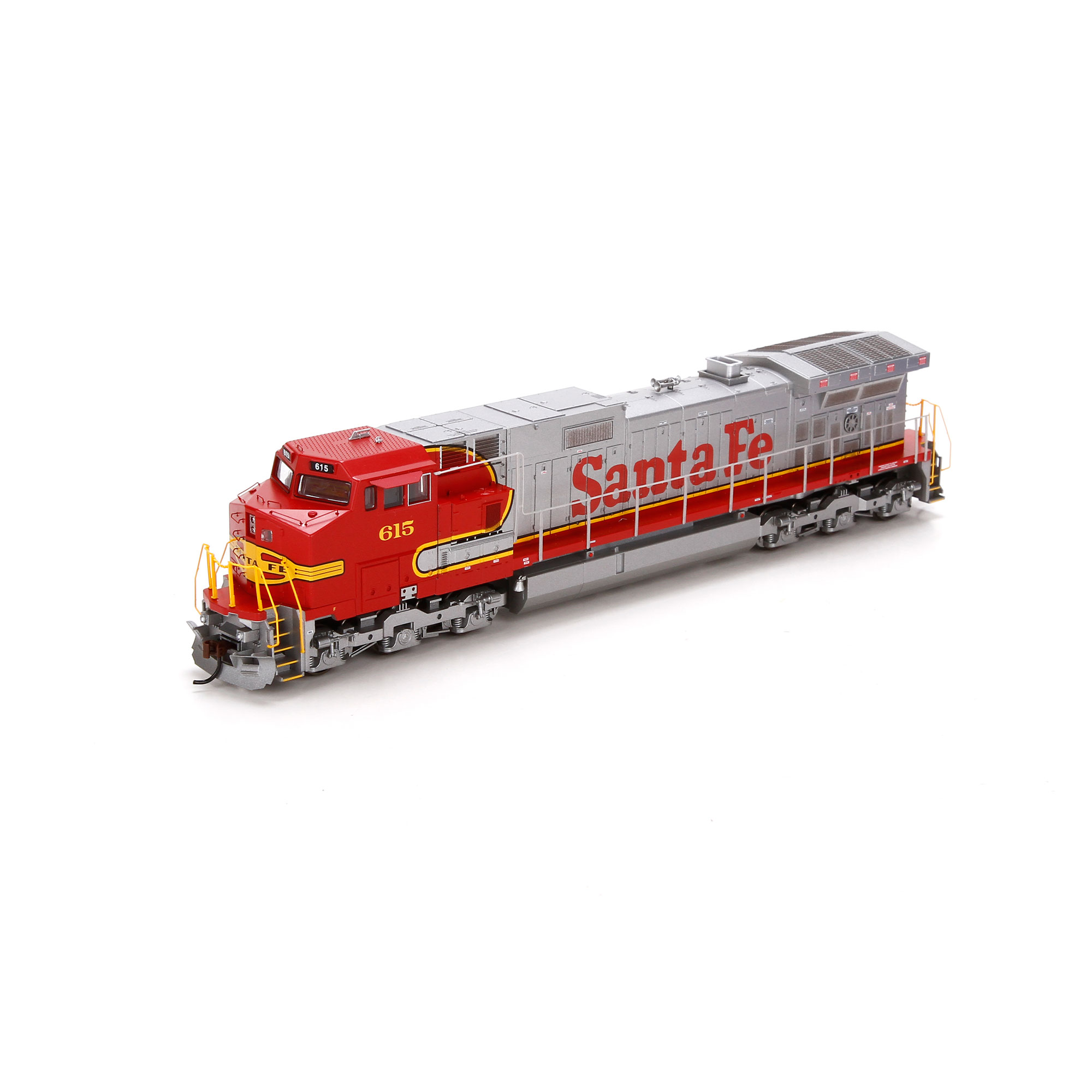HO RTR Dash 9-44CW, SF #615 (ATH77979): Athearn Trains