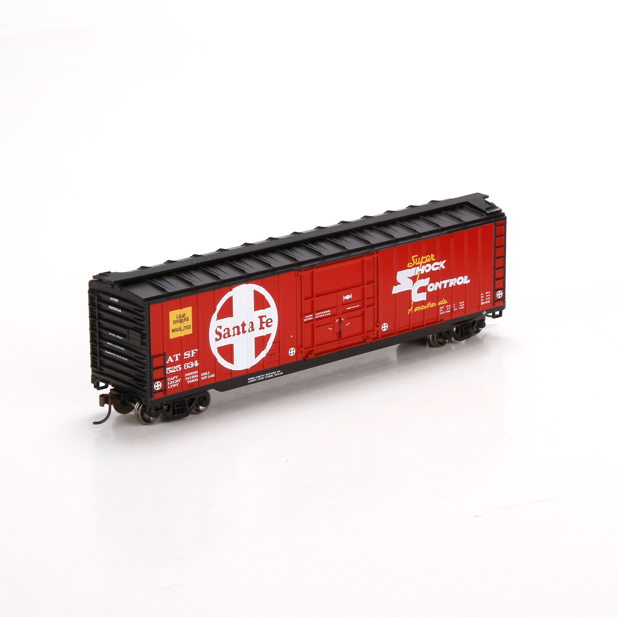 Ho Rtr 50 Ob Plug Door Box Sf 525634 Ath81443 Athearn Trains