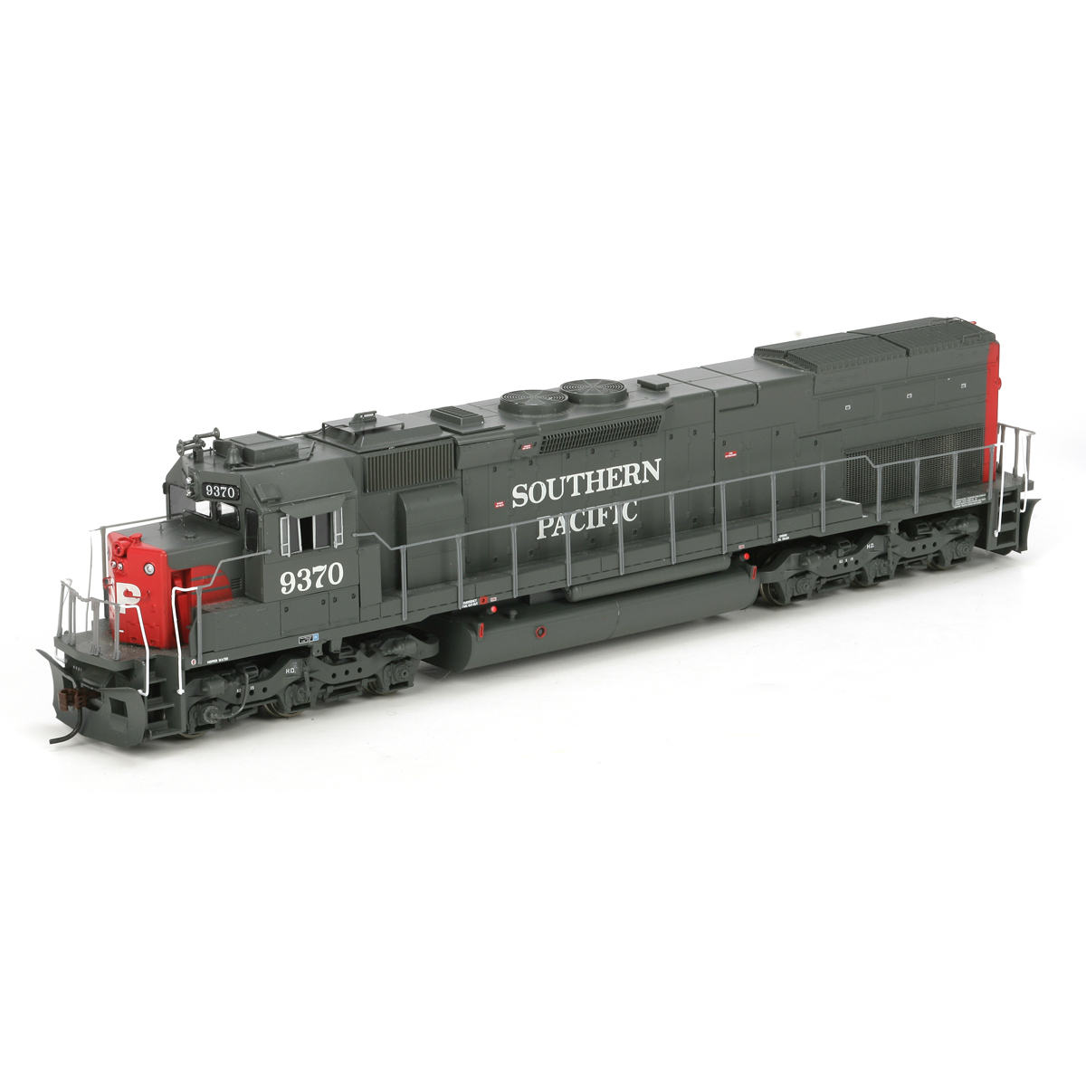 HO RTR SD45T-2 Late, SP #9370 (ATH88766): Athearn Trains