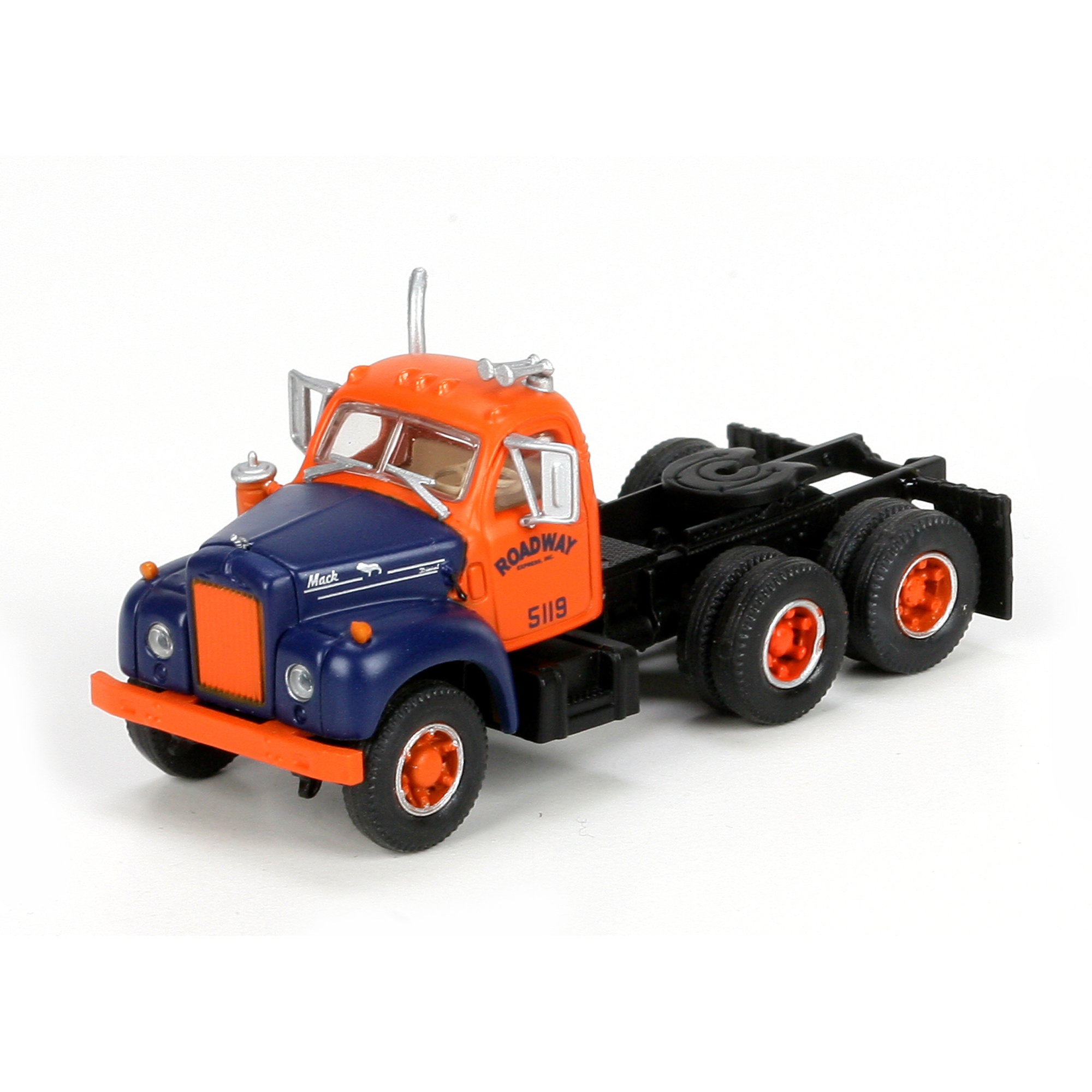 Athearn N Scale 3 Axle Tractor : Ho rtr mack b tractor roadway ath athearn trains
