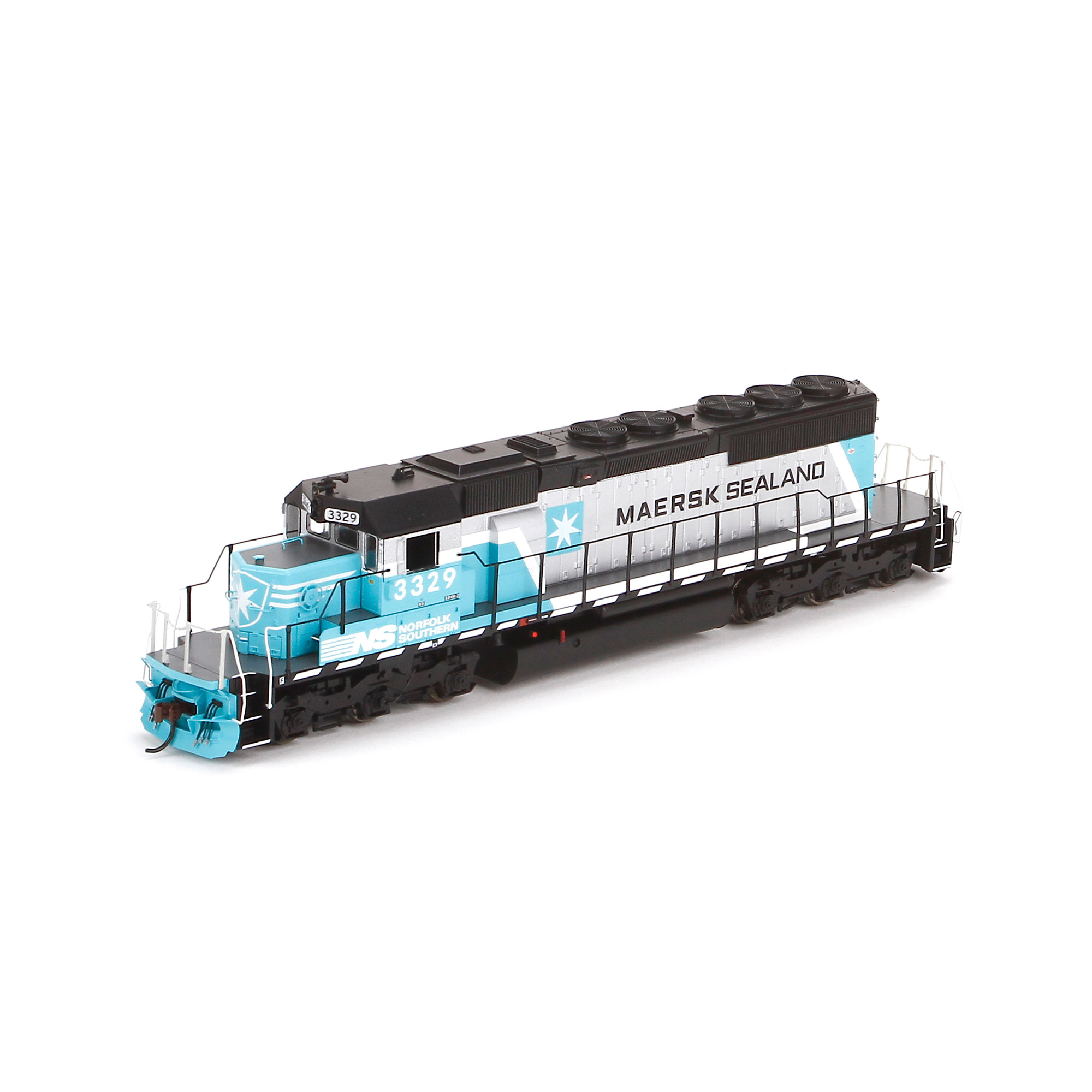 ho rtr sd40 maersk  3329  ath95266   athearn trains