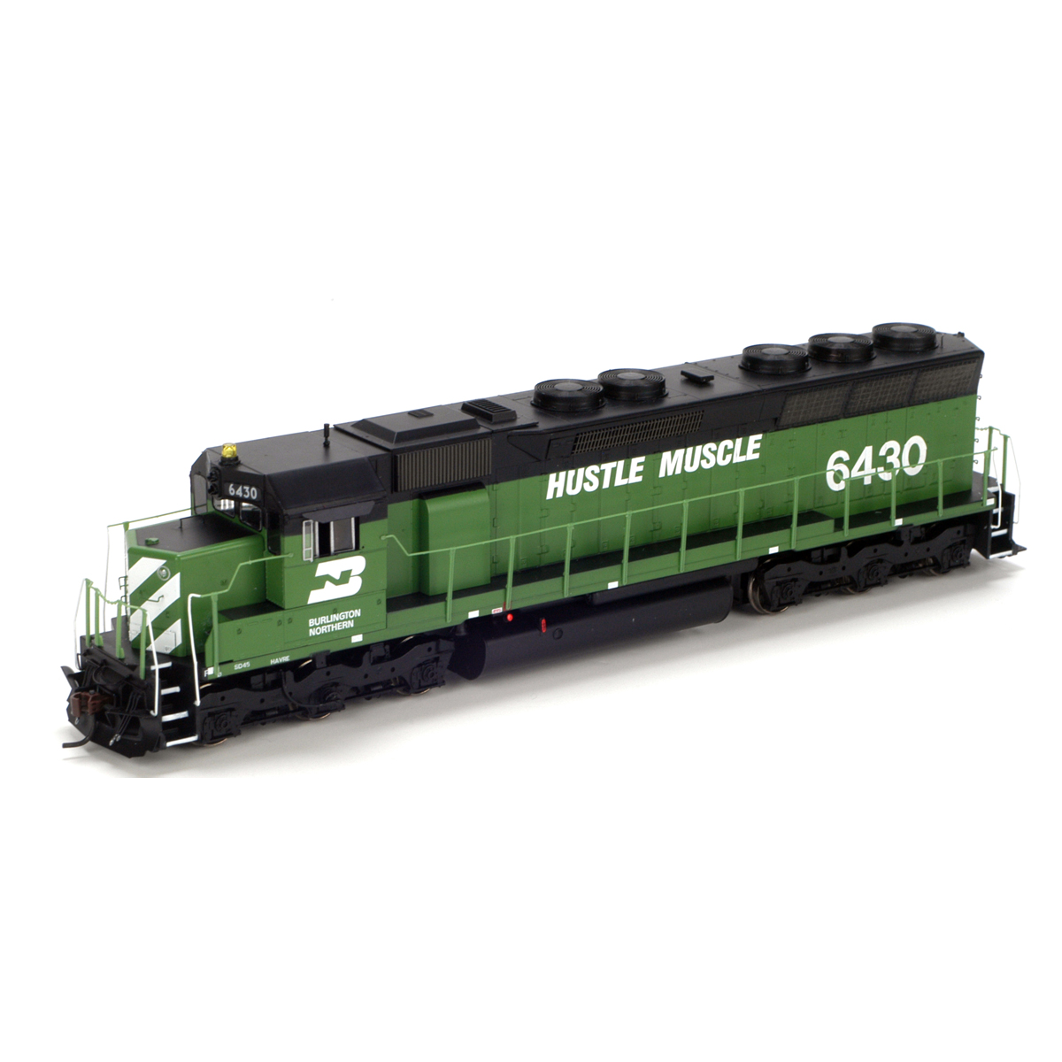 Ho Rtr Sd45 Bn Hustle Muscle 6430 Ath95381 Athearn Trains